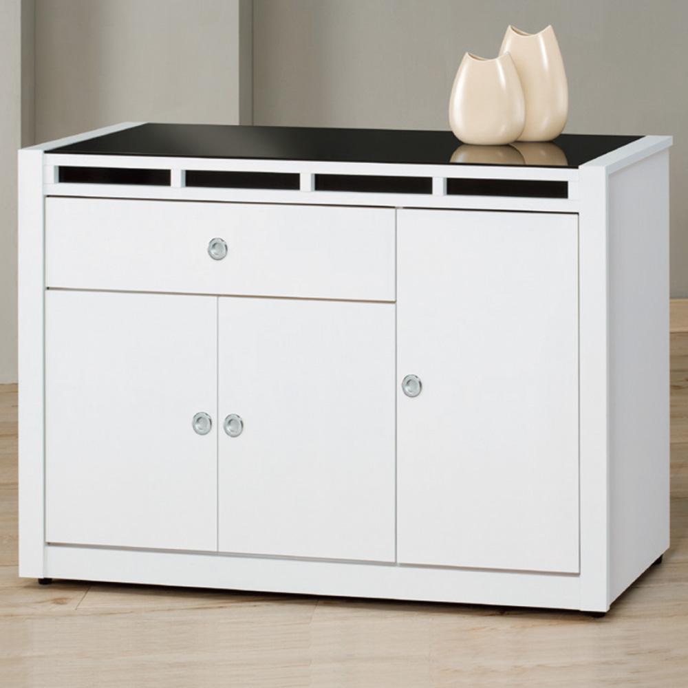 品家居 貝拉4尺收納餐櫃下座-121.2x41.8x82.1cm-免組