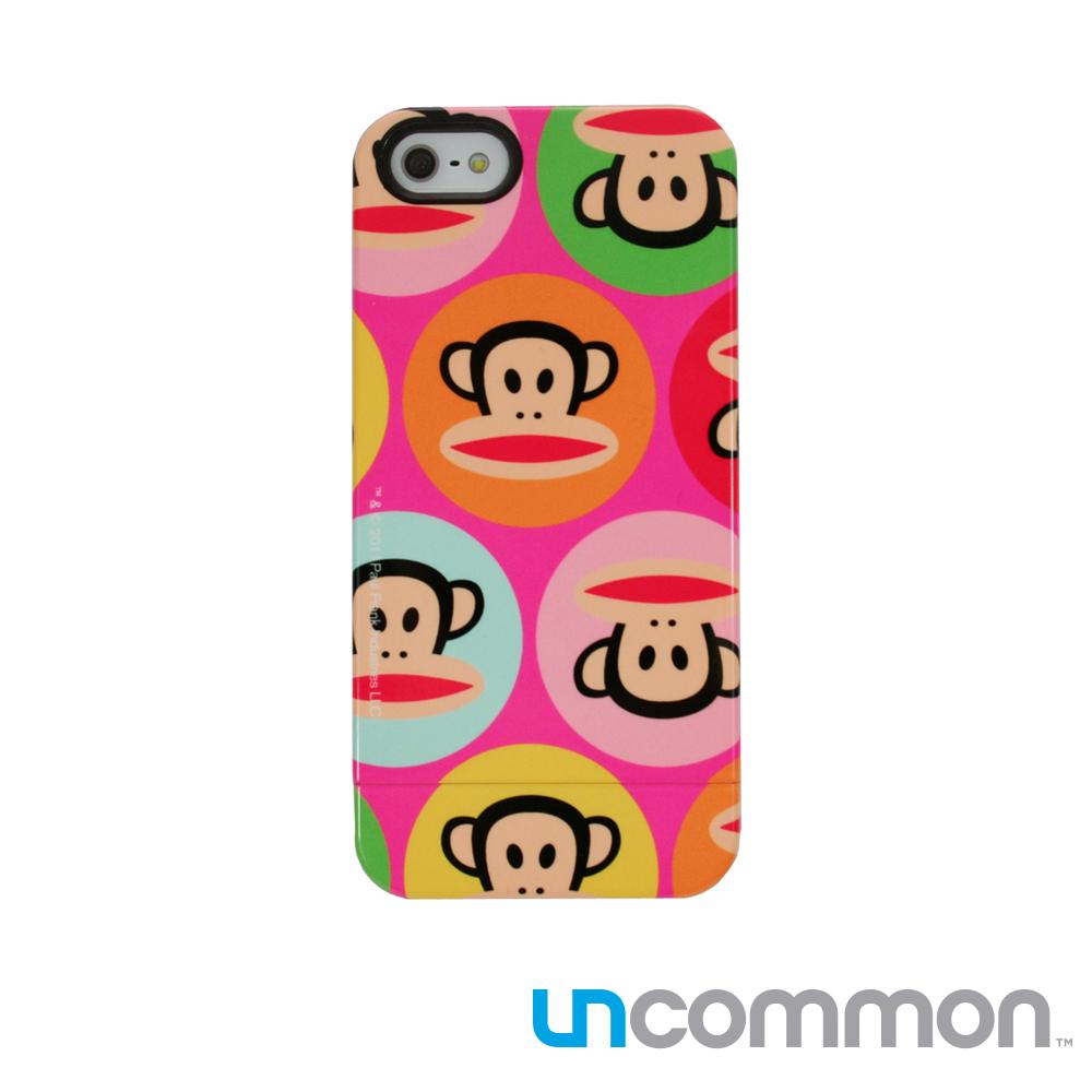 Paul Frank IPHONE 5 5S SE滑蓋手機殼-Pink Dots Julius