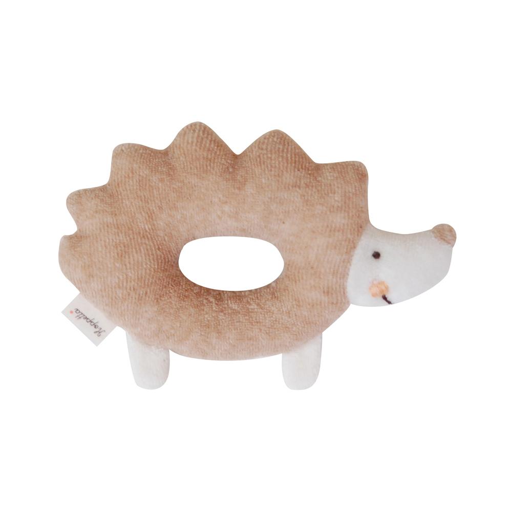 【Hoppetta*】有機棉-刺蝟塔塔甜甜圈搖鈴