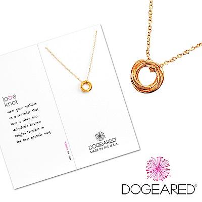 Dogeared 許願金項鍊 永結同心圓 Love Knot Necklace 附原廠盒
