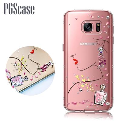 PGS Samsung Galaxy S7 奧地利彩鑽防摔手機殼-香吻