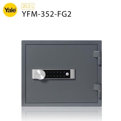 耶魯Yale 密碼觸控防火款保險箱YFM-352-FG2