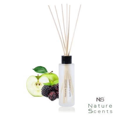 Nature Scents 自然芬芳 香氛擴香瓶組60ml(蘋果黑莓)