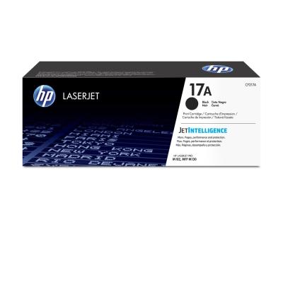 HP 17A 黑色原廠 LaserJet 碳粉匣(CF217A)