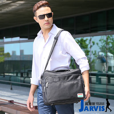Jarvis-側背包-休閒公事包-勁量-A010