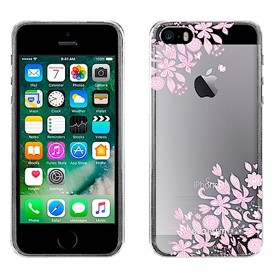 Metal-Slim Apple iPhone SE/5S/5 粉彩時尚TPU軟...
