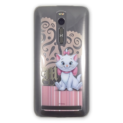 ASBVC動漫 迪士尼瑪莉貓愛心款ASUS ZenFone 2 5.5保護殼