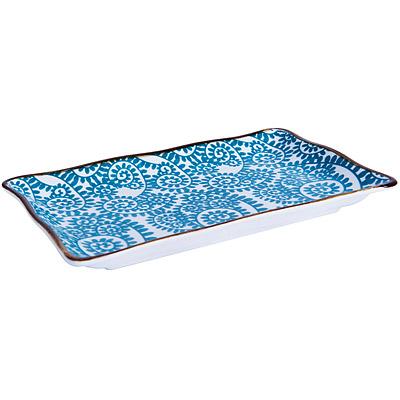 EXCELSA Oriented瓷餐盤(藤蔓藍20cm)