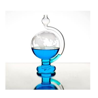 賽先生科學 玻璃氣壓球(晴雨儀)-世界地圖版