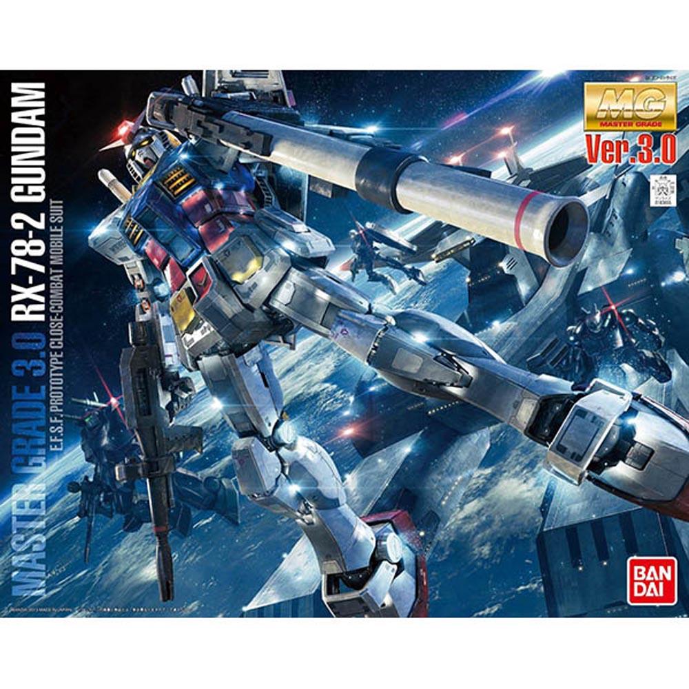 BANDAI 鋼彈MG 1/100 RX-78-2 Gundam鋼彈 Ver.3.0
