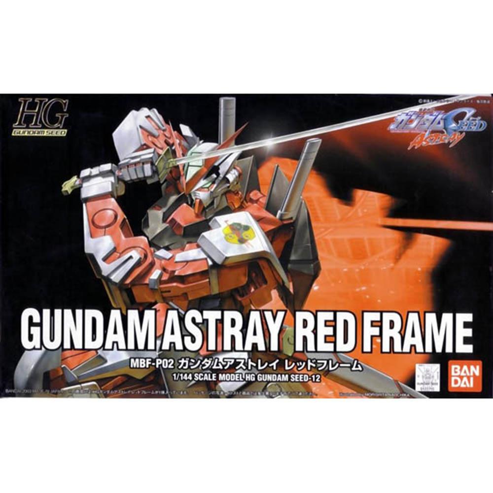BANDAI 鋼彈SEED ASTRAYHG 1/144紅色異端鋼彈 12