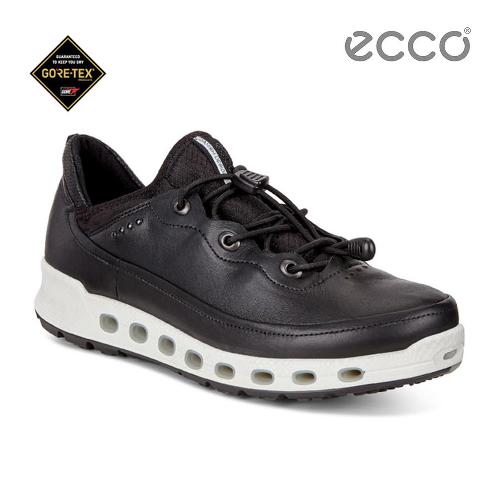 ECCO COOL 2.0 360度環繞防水休閒運動鞋-黑