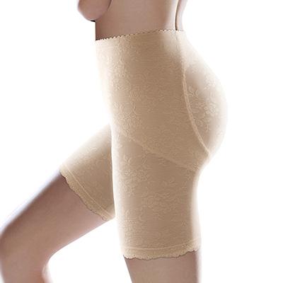 【黛安芬】曲線美体衣 - 涼爽棉系列《長版美体褲》 M-EEL (裸膚色)