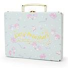 Sanrio 雙星仙子幸福女孩系列第二彈精裝硬紙A5手提收納箱(晚安甜心)