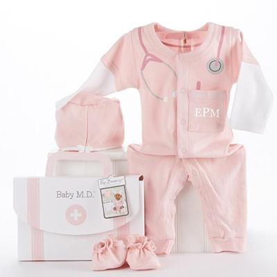Baby Aspen 小小嬰兒女醫生套裝彌月禮組
