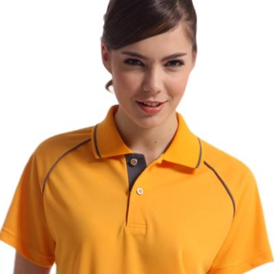 【Sunrise】88112-1明媚亮橘★短袖POLO女版襯衫