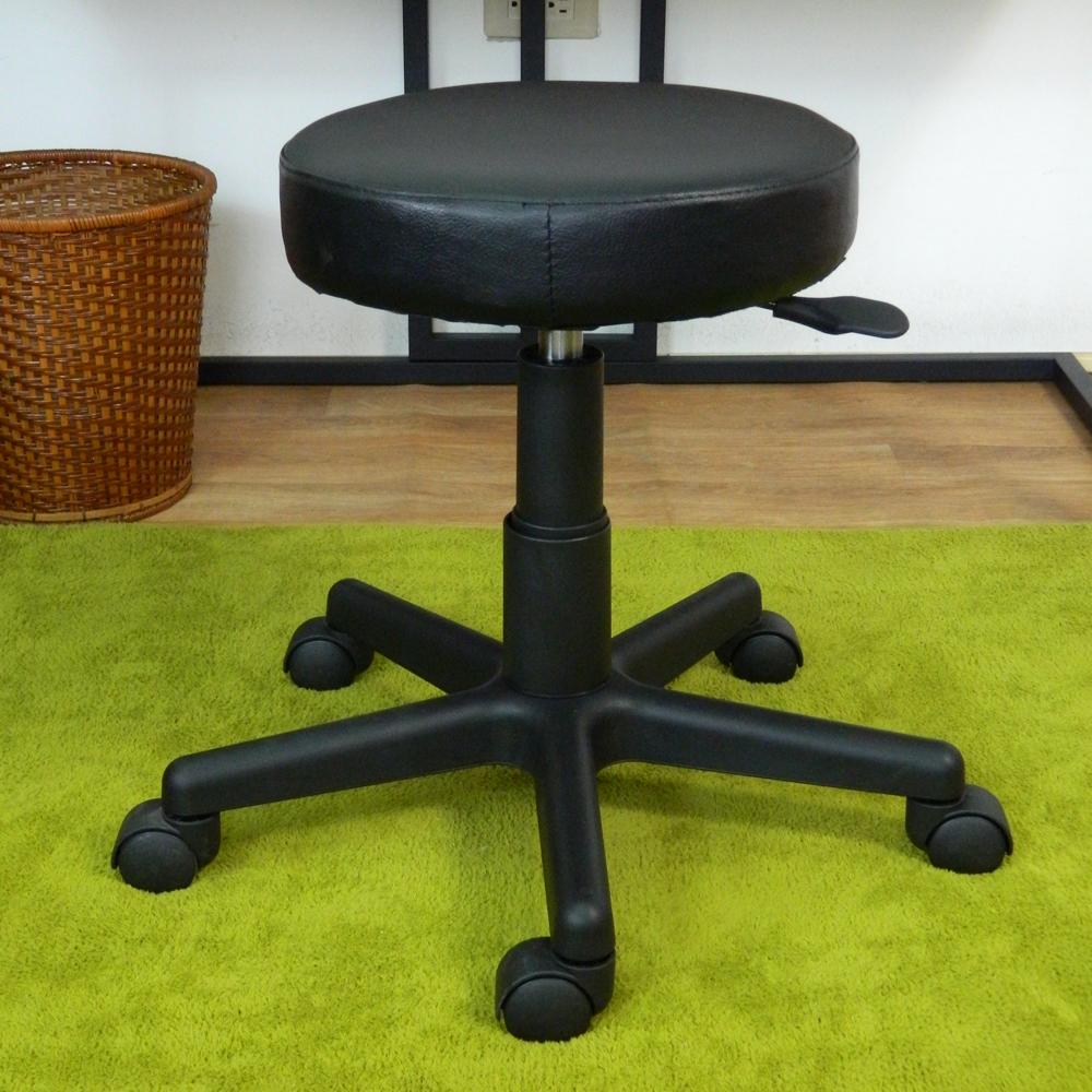 時尚屋 多功能1尺透氣看診椅活動輪 直徑35cm-免組