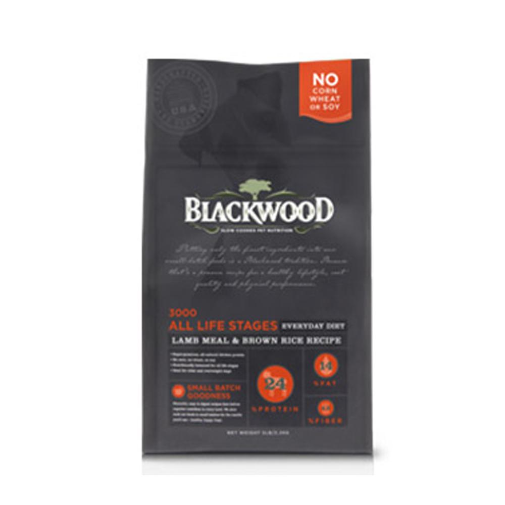 BlackWood 柏萊富 特調全齡犬配方(羊肉+糙米+雞肉)5磅 2.2kg