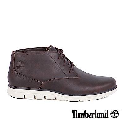 Timberland 男款Bradstreet深棕色素面休閒鞋