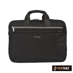 PARTAKE-C1男性商務系列-公事後背兩用包-黑-PT17-C1-71BK