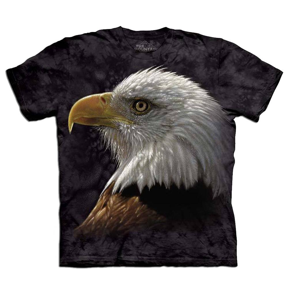 摩達客-美國The Mountain 白頭鷹像 兒童版純棉環保短袖T恤