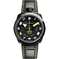 BOMBERG 炸彈錶 BOLT-68 NEON 機械錶-綠x黑/45mm