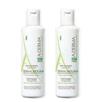 A-DERMA艾芙美 燕麥新葉全效保護潔膚凝膠(250ml)2入組