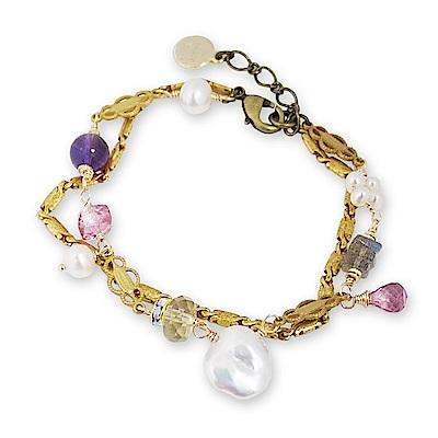 Luce Costante fiore perla系列手鍊