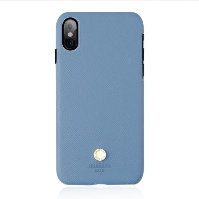 JTLEGEND iPhone X Saffiano 設計師款背蓋皮套