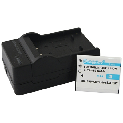 電池王 For SONY NP-BN1 / BN1 高容量鋰電池+充電器組