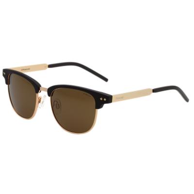 Polaroid 寶麗萊 偏光太陽眼鏡 (黑配金)