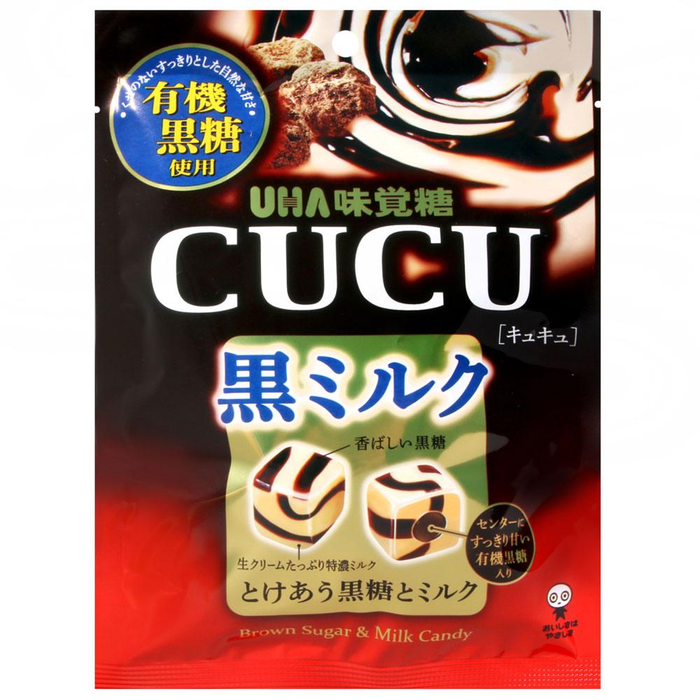UHA味覺糖 CUCU黑糖牛奶糖(90g)