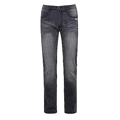 FILA 男牛仔褲-黑 1PNS-1446-BK