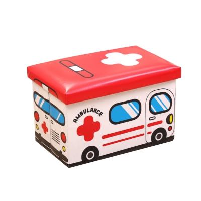 卡通造型收納椅(救護車)