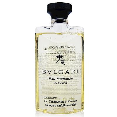 BVLGARI寶格麗 黑茶沐浴精75ml