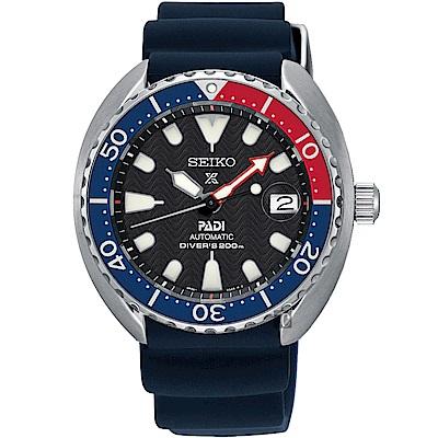 SEIKO精工 Prospex PADI 聯名潛水200米機械錶(SRPC41J1)
