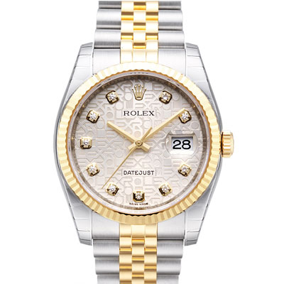 ROLEX 勞力士 DateJust 116233 蠔式恆動日誌型鑽錶 -銀色紀念鑽面/37mm