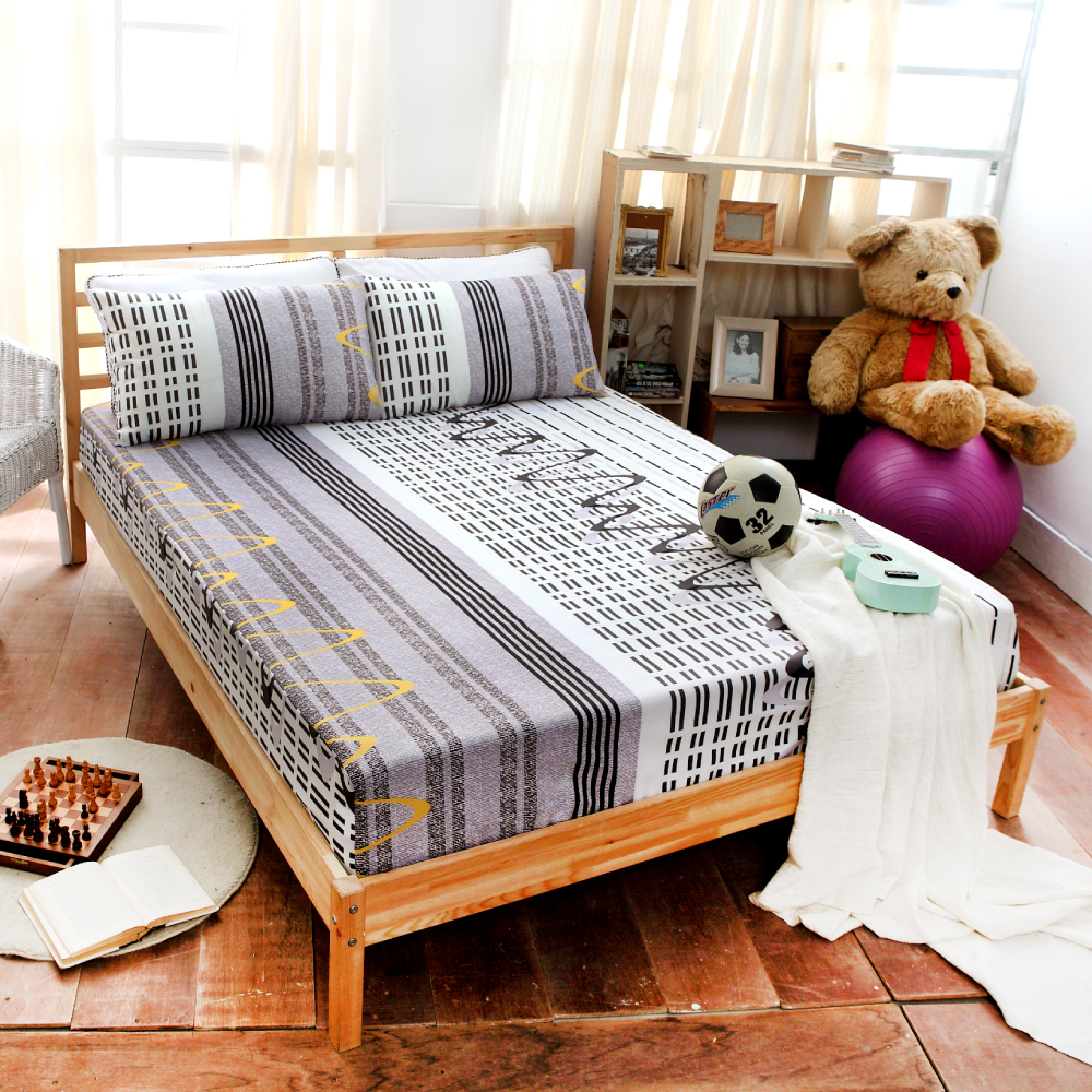 Goelia 珍愛時尚 雙人 超細纖 床包三件組