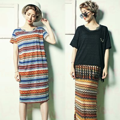 古著 任選2件 當季暢銷上衣背心洋裝x下著組 La Belleza