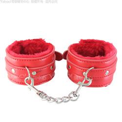 香港CICILY-紅色警戒-絨毛內襯腳銬