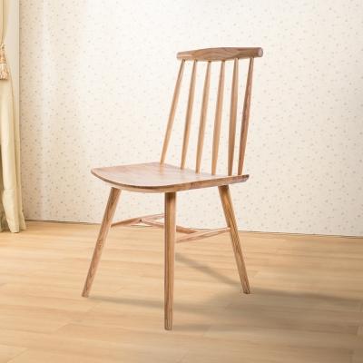 Jiachu 佳櫥世界-Fran芙嵐實木餐椅/二色-寬45X深46X高85公分