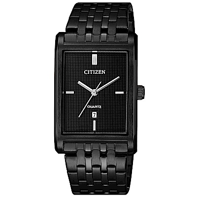 CITIZEN星辰 黑爵士石英腕錶(BH3005-56E)-黑/25mm
