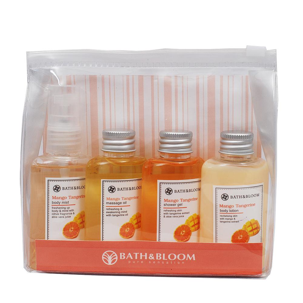 Bath & Bloom 芒果柑橘旅行提袋組