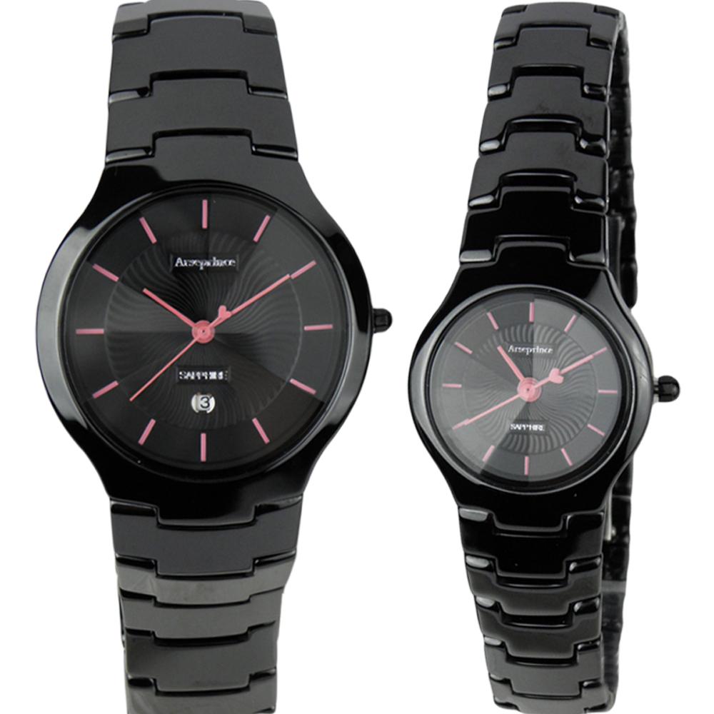 Arseprince 浪漫愛心指針對錶