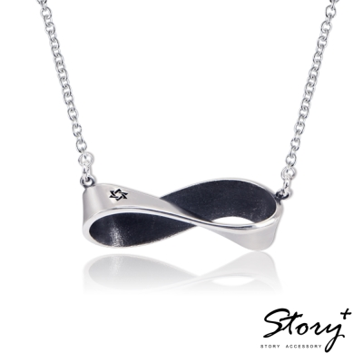 STORY故事銀飾-六芒星-莫比烏斯純銀項鍊