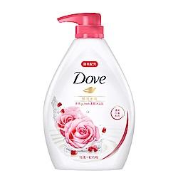 多芬 玫瑰水嫩沐浴乳