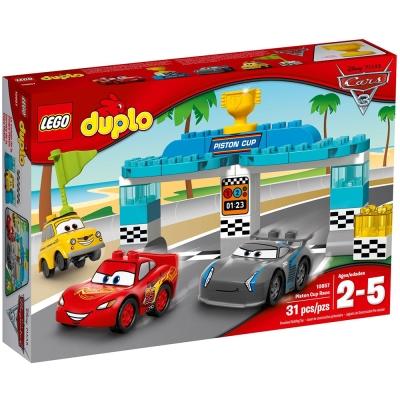 LEGO樂高得寶系列10857 CARS汽車總動員活塞盃汽車大賽