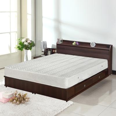 群居空間 米爾5尺收納雙人床(收納床片+收納床底)-(不含床墊)