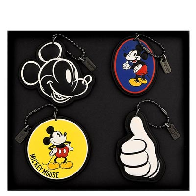 COACH Disney Mickey造型吊飾組合