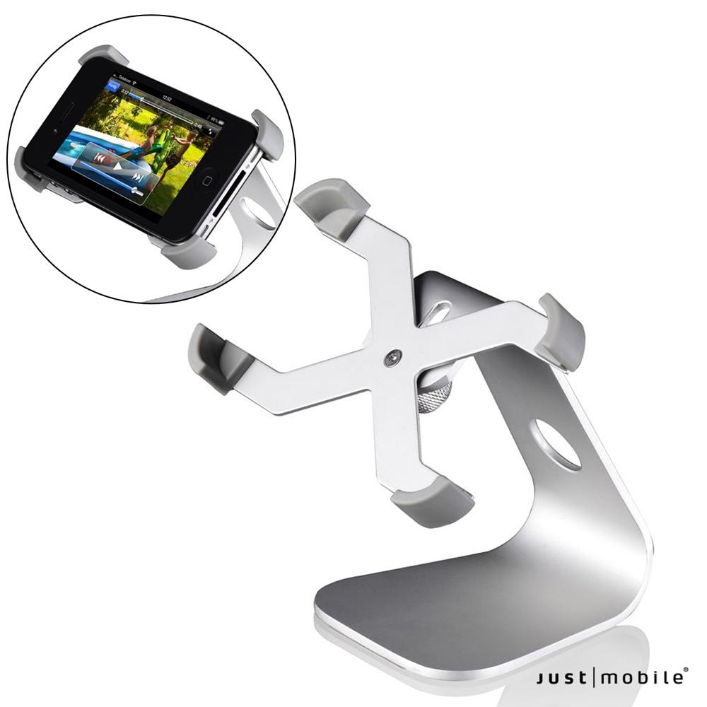 Just Mobile iPhone 5/5S/4/4S 鋁質桌上型置放架